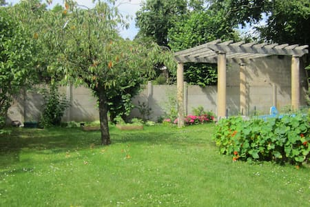 independent apartment - on garden - Bourges - Dom