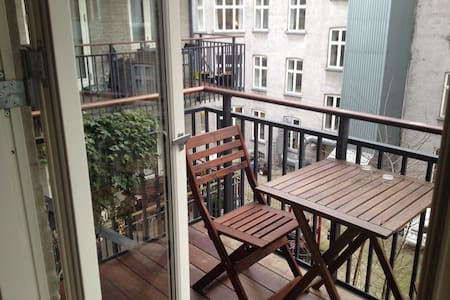 Cosy apartment at trendy Vesterbro