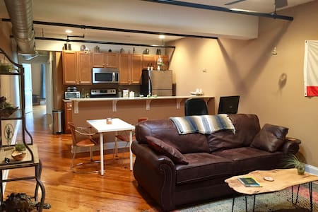 Industrial downtown apartment - Harrisonburg - Wohnung