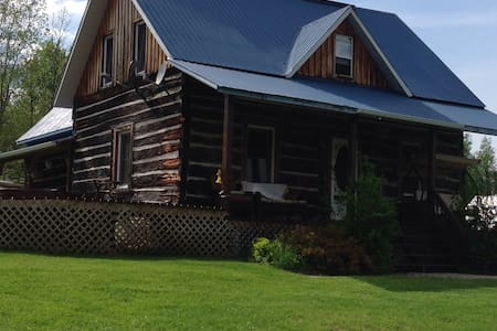 Lovingly Restored Log Home - House
