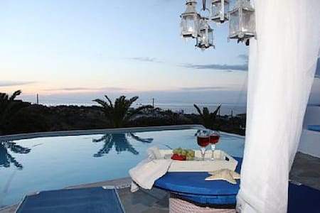 Luxury Private Villa for 4-8 people - Parasporos