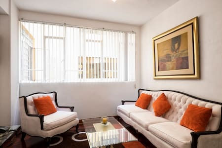 Lindo dpto amoblado en Miraflores - Miraflores District - Apartment