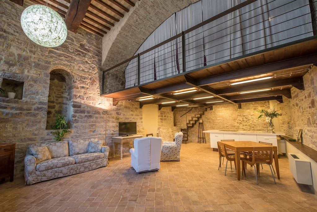 Assisi- loft minimal chic 2-4 beds