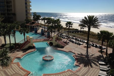 Gulf Front Studio Condominium - Panama City Beach - Condominium
