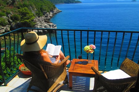 Amazing view apartment Mljet island - Sobra - Byt