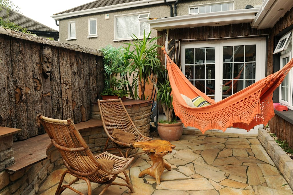 Patio Area ....Great for relaxing  !!