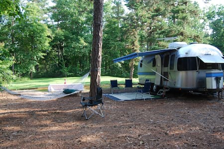 Glamping in the Pine Barrens!
