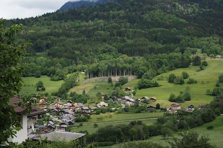 Appartement de village sur la montagne - Daire