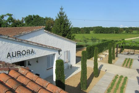 Villa Can Aurora in Llagostera with private pool - Villa