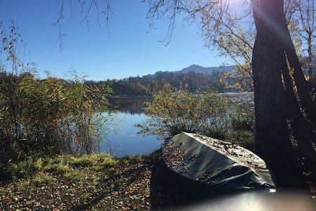 Paradies auf Erden - Ferienwohnung direkt am See - Seehausen am Staffelsee - Wohnung