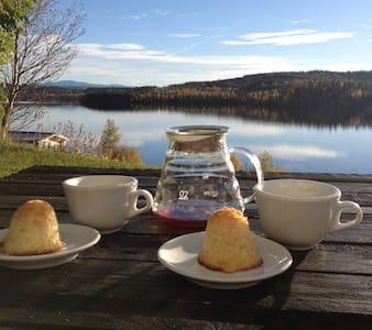 Bo på landet på ett kafferosteri. - Järpen - Bed & Breakfast