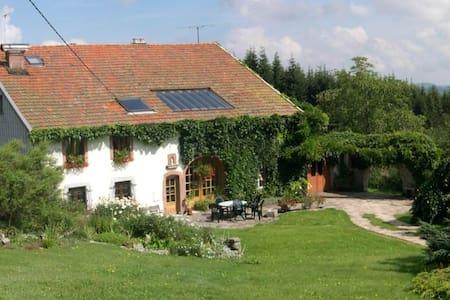 Gîte en pleine nature, calme à 10 min de Gérardmer - Granges-sur-Vologne - Byt