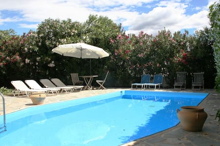 Stylish Villa, Private Pool, 4 Bedrooms, Wi-Fi, - Nafplion - Villa