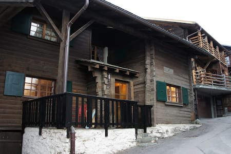 Verbier: Cozy 2 bedroom apartment, sleeps 4-6 - Bagnes - Leilighet