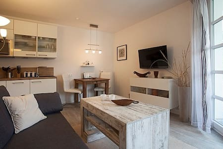 Gemütliche Ferienwohnung am Balmer See / Golfplatz - Apartamento
