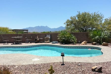 Room in beautiful home 10 mi from Madera Canyon AZ - Huis