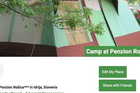 Place for camper/RV Apartma Rožica - Karavan/RV