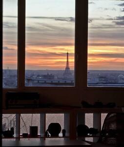 Chambre dans 4 pièces - 360° view - Wohnung