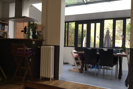Maison charme, 5pers, 15min Paris - Soisy-sous-Montmorency