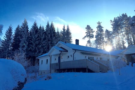 Fantastiskt läge vid Åsunden - Marbäck - Haus