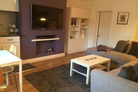 Clean, modern 1 bedroom apartment. - Casa