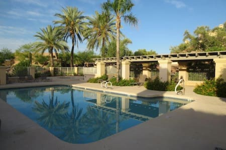 Private 2BR Condo with AwesomeViews - Fountain Hills - Condominium