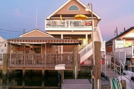 Romantic Bayfront Cottage - Wildwood Crest - Wohnung