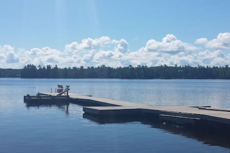 Lake front property with sand beach - Lake of the Woods - Cottage