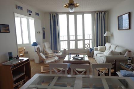 Bel appartement front de mer - Mers-les-Bains