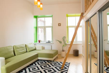 Exceptionally cozy design studio! - Riga