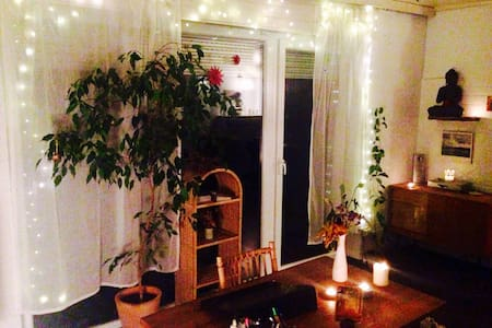 Big room with lovely garden close to the airport - 斯图加特 - 独立屋