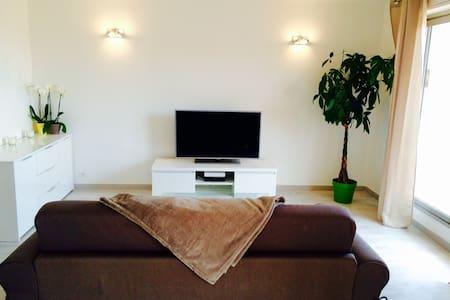 Bright & modern studio with terrace