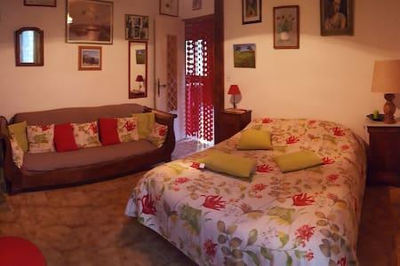 millau, st georges de luzençon:1 chambre+ dormeuse - House