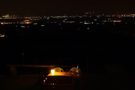 Stabbiano-Bilocale vista splendida - Montepulciano - Lägenhet