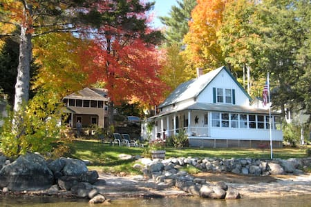 Beautiful Lakefront Cottage - Bristol - Huis