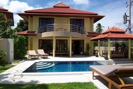 Plai Laem Pool Villa Near Beach