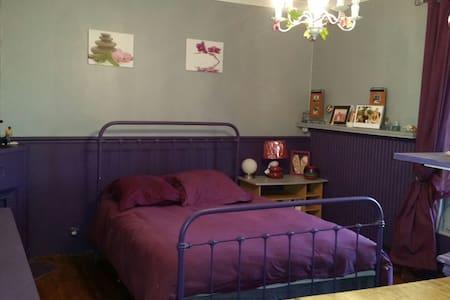 La chambre d'Adeline - Nanteuil les meaux - Hus