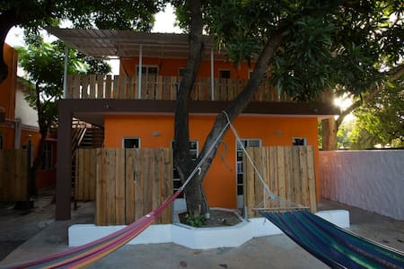 Chez Jacques - Triple Room with Fan - Tamarin - Bed & Breakfast