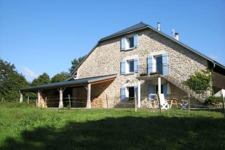 Gîte  au sud du massif du Jura, 5p. - Haus