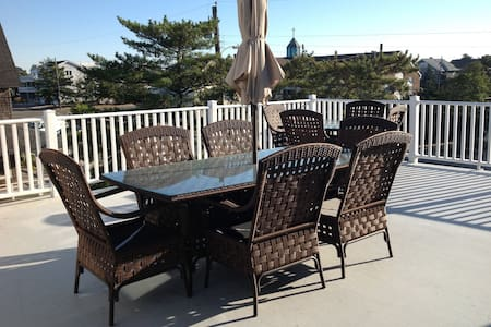 Best Location on LBI - Beach Haven! - Beach Haven - Hus