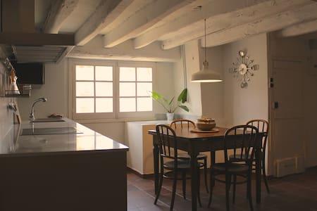 Apartamento rústico en Cal Metge - La Pobleta de Bellveí - Apartment