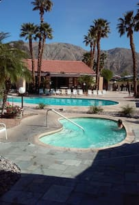 desert hot spring Tiki room rent