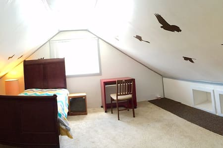 Amazing Attic room