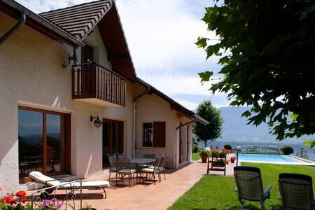 Les balcons du Lac (suite + chambre verte) - Le Bourget-du-Lac - Bed & Breakfast