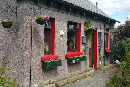 """Lovely, cosy, quaint, """"olde worlde"""", and rustic style house, for one or two people, in the quiet and residential neighbourhood of old Galways' the Claddagh, with all mod-cons, still only a short walk from everything you could want for a great visit."""