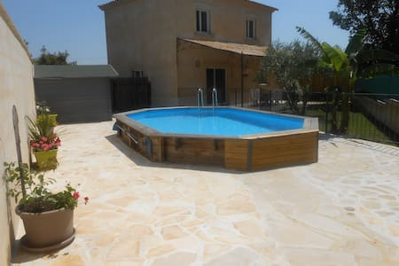 Villa 100m2 proche d'Alès - Gard - Méjannes-lès-Alès - Villa