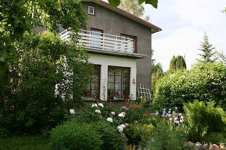 Cosy house with a private garden - Otepää - Hus