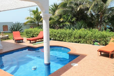 Studio by the sea with pool - Isla Mujeres - Lejlighed