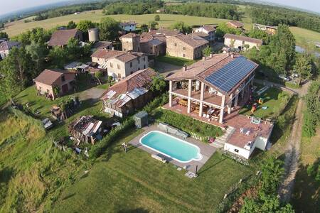 B&B in agriturismo con piscina - Bed & Breakfast
