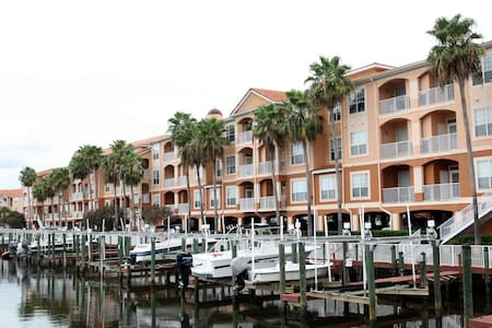 Tampa Amazing Waterfront Apartment